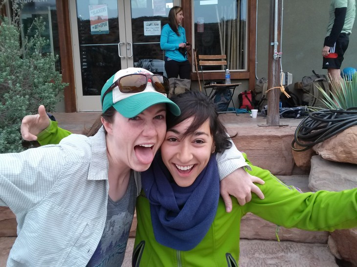 We stayed with our friend Elana (from Deer Crossing Camp) in Zion + her rad homies.
